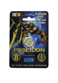 Poseidon 3500 Blue Singles