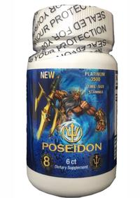 Poseidon 3500 Blue Bottle 6cnt