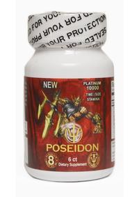 Poseidon 10000 Red Bottle 6pcs