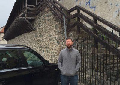 Slovakia - Castle Wall Remains