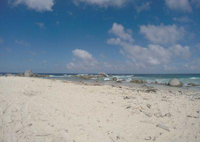 Beach in Northern Aruba