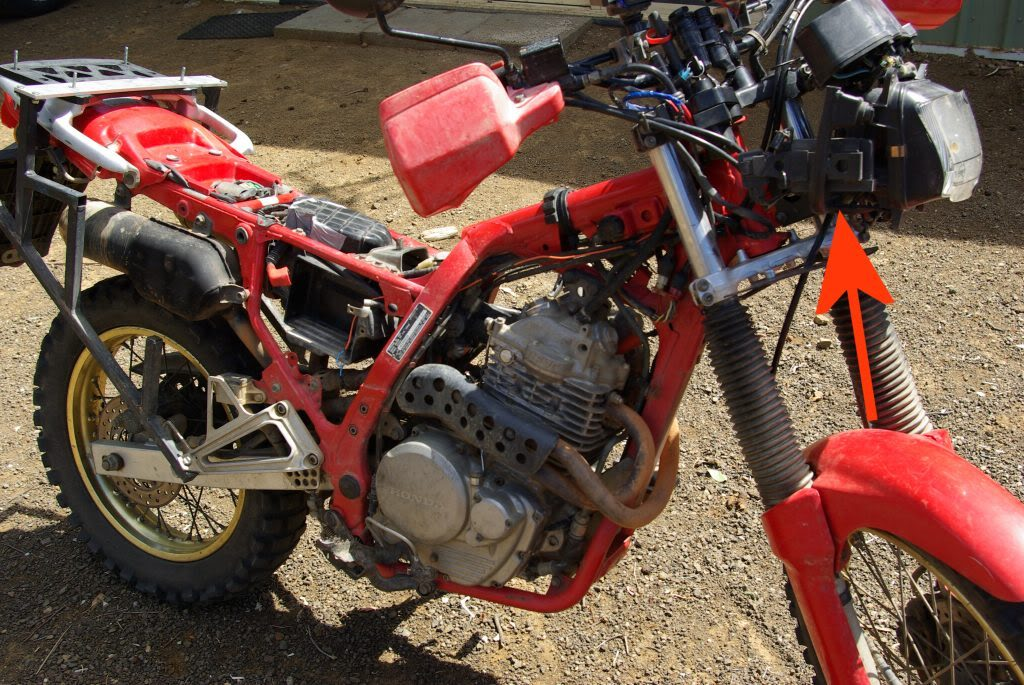 Any Honda Dominator Nx650 Owners Out There