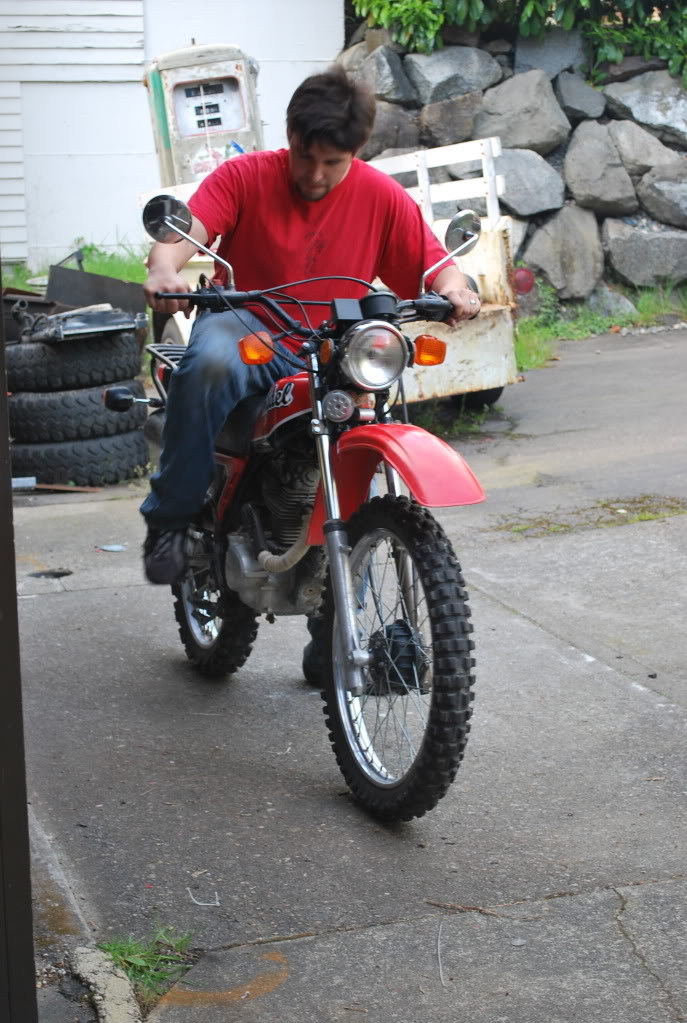 My First Bike 1981 Honda XL185S Adventure Rider