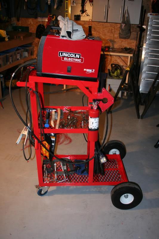 Welder cart ideas   Adventure Rider