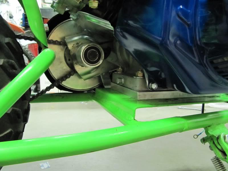 DB30 Doodlebug Minibike - 6 5hp engine/Comet Torq Converter