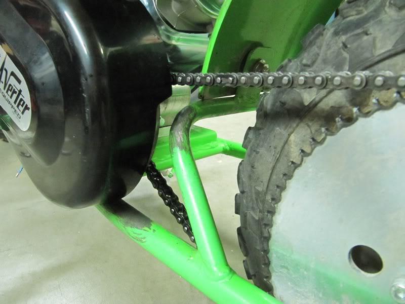 DB30 Doodlebug Minibike - 6 5hp engine/Comet Torq Converter Install