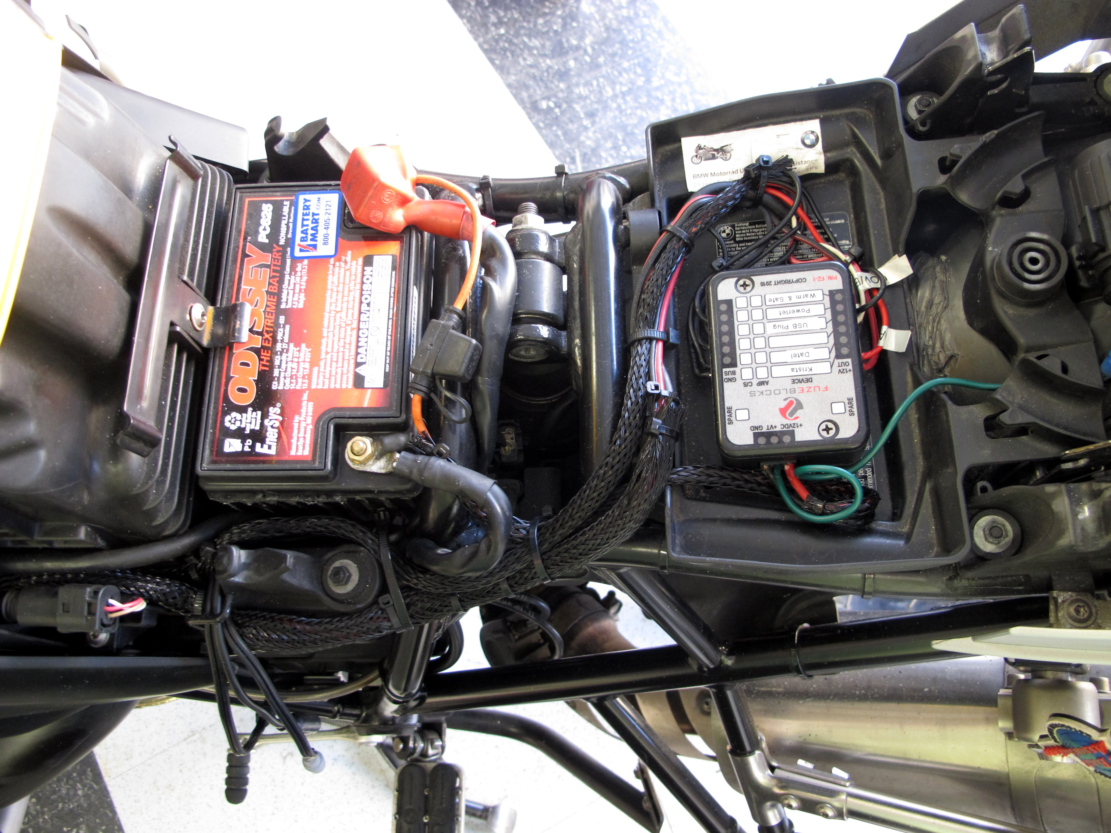 Wrapping Wiring Harness | Adventure Rider  Adventure Rider