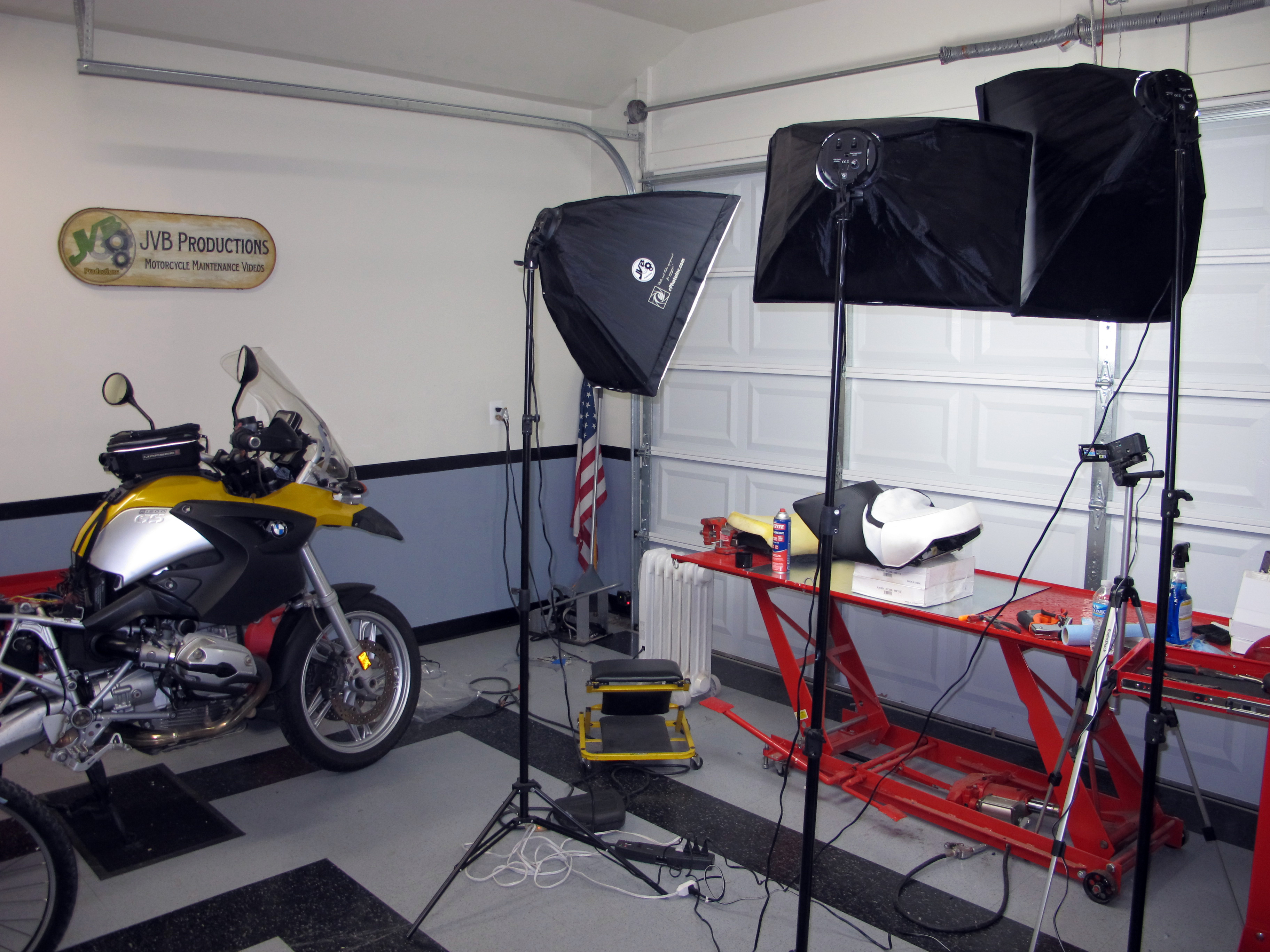 Dolly Mover M4 BMW R 1100 GS for Centre Stand Center