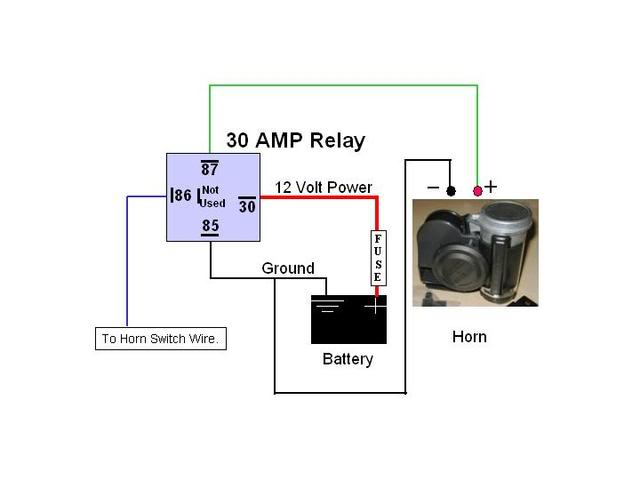 12 Volt Air Horn Wiring Diagram from s3.amazonaws.com