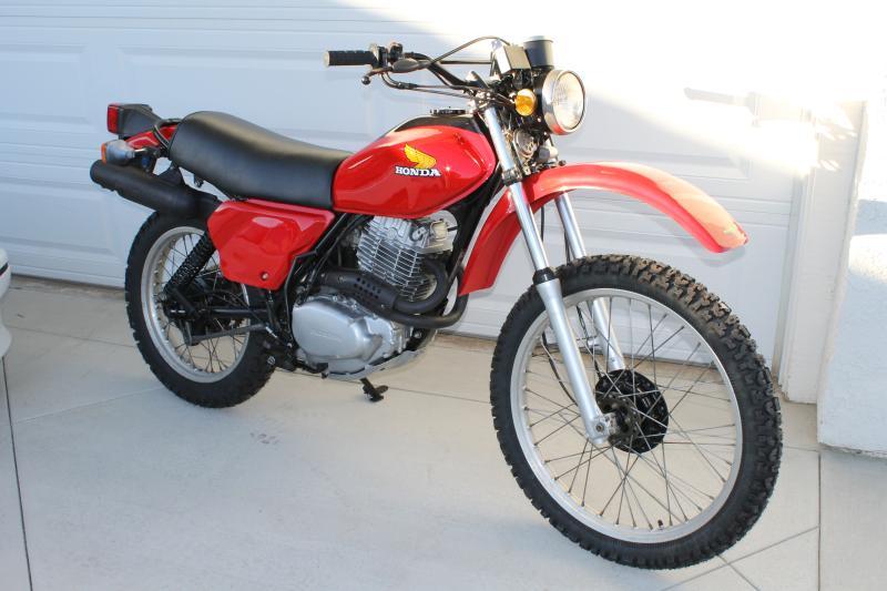 1980 honda xl500s value