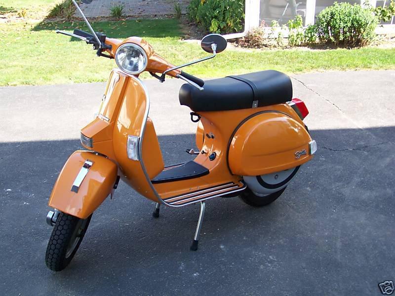 Practicalilty of buying a vintage Vespa   Adventure Rider