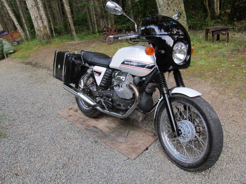 Anybody have a Moto Guzzi V7?   Page 28   Adventure Rider