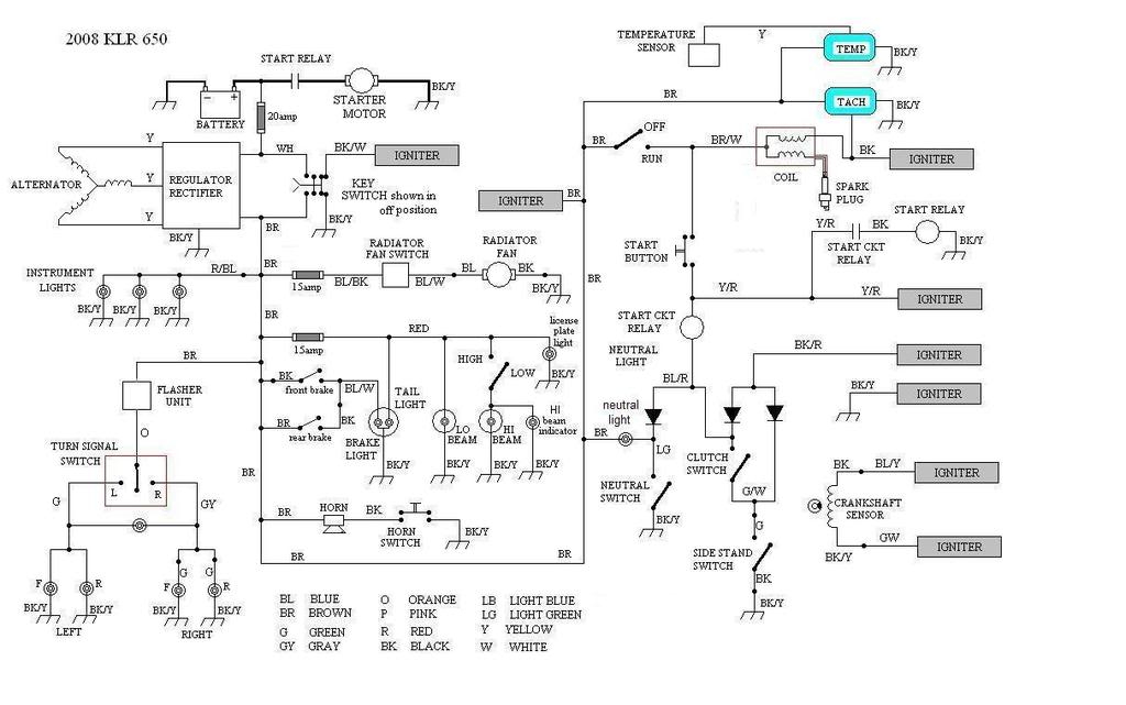 2007 Klr 650 Wiring Diagram Free Download 110cc motorcycle ... Klr Wiring Diagram on 2007 klr650 relay, 2007 klr650 seats, 2007 klr650 manual,