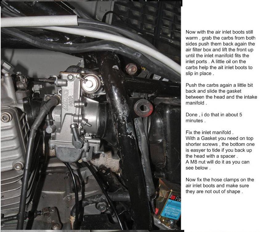 How to build dual Flatslide Carbs for Honda XL/XR 600 | Adventure Rider