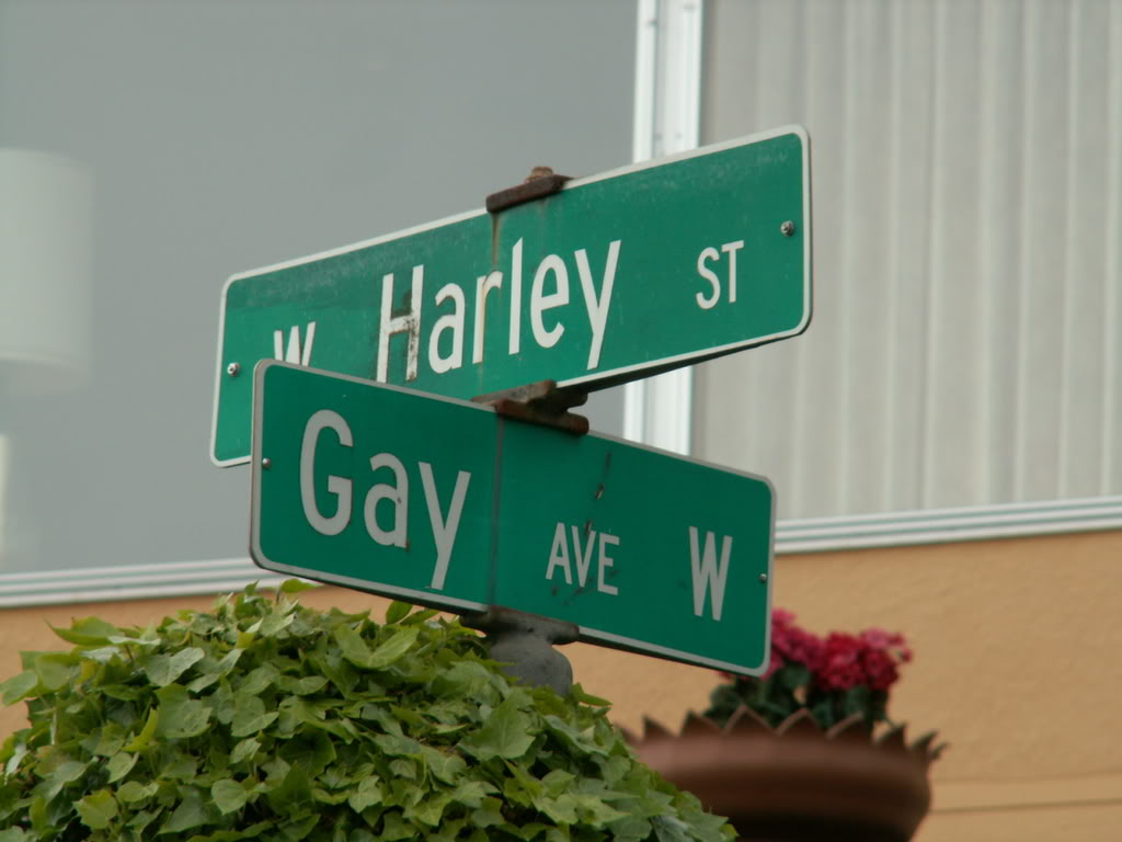 Harleys are gay