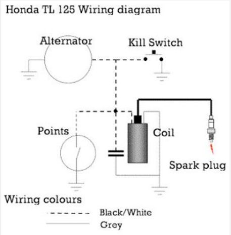 Fine Honda Tl 125 Wiring Diagram Wiring Diagram Wiring Digital Resources Indicompassionincorg