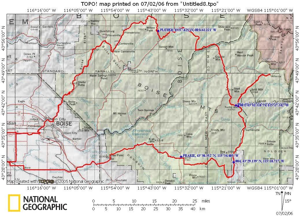 A short ride to Atlanta, Idaho | Adventure Rider