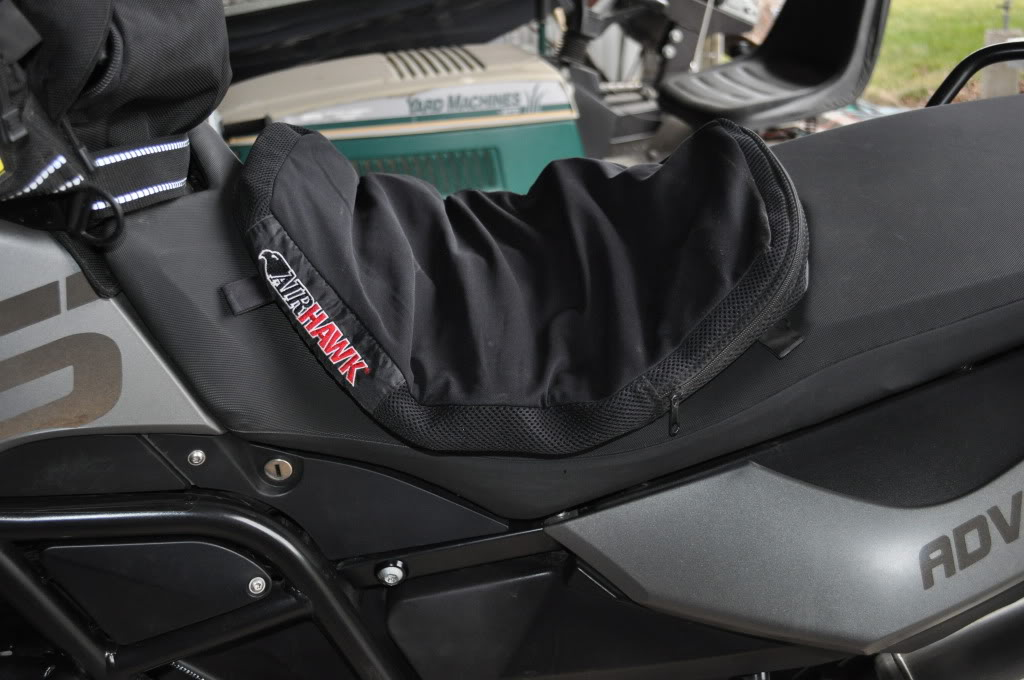 Airhawk For The F800gs Which Size Did You Get Adventure Rider