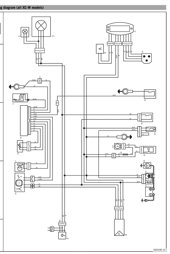 Ktm Exc Wiring Diagram