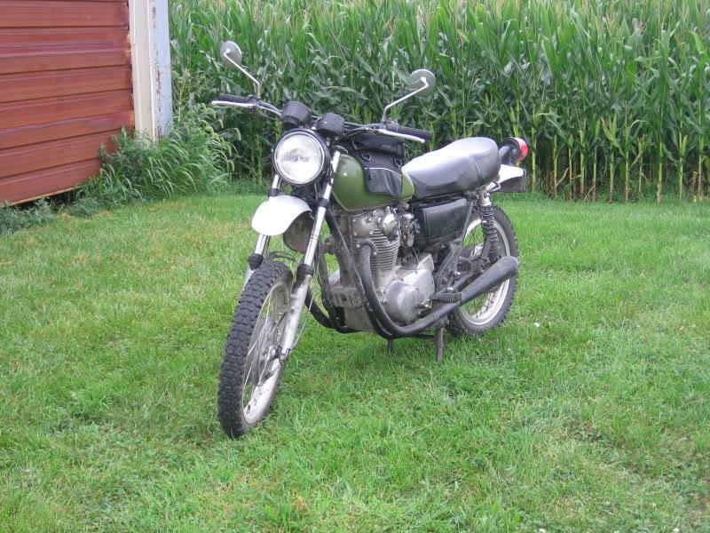 Yamaha XS650 scrambler | Adventure Rider