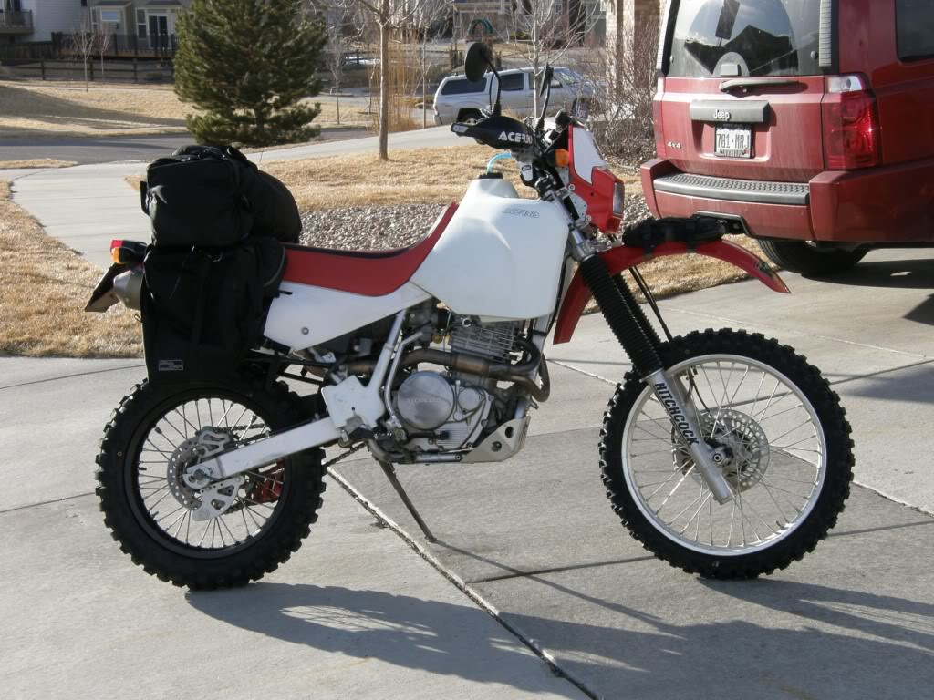 honda xr600 as a adv bike adventure rider. Black Bedroom Furniture Sets. Home Design Ideas