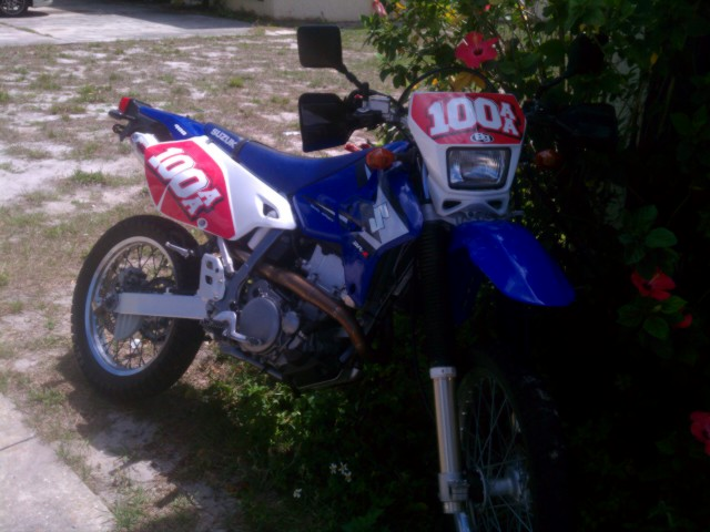 Jetting issues on a DRZ  Does someone want an MRD exhaust