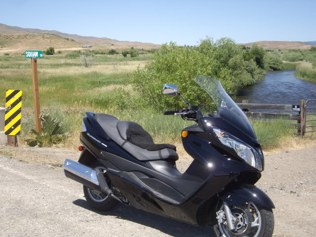 Thinking bout a Burgman 400     | Adventure Rider