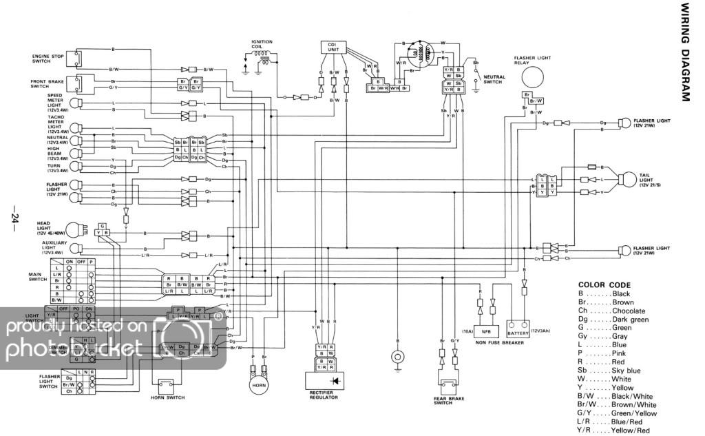 on yamaha tt 350 wiring diagram