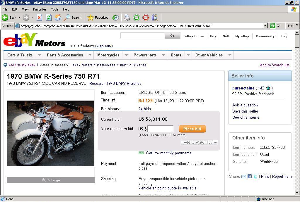 Amazing Deal 1970 Bmw R71 Or Wtf Adventure Rider