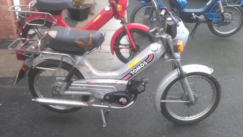 My Tomos A3 | Adventure Rider