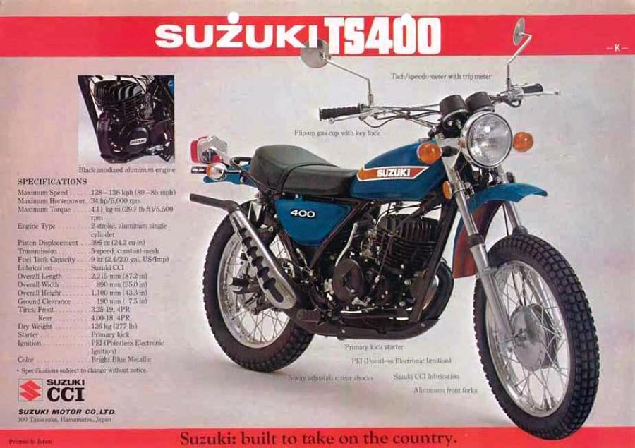 1976 Suzuki TS400 restoration | Adventure Rider