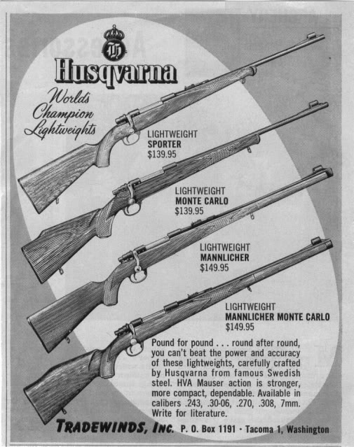 Image result for smith and wesson husqvarna model d