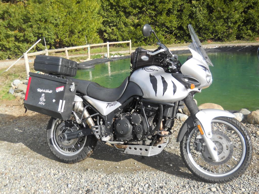 Anyone downsized from a big adventure bike to a dual sport