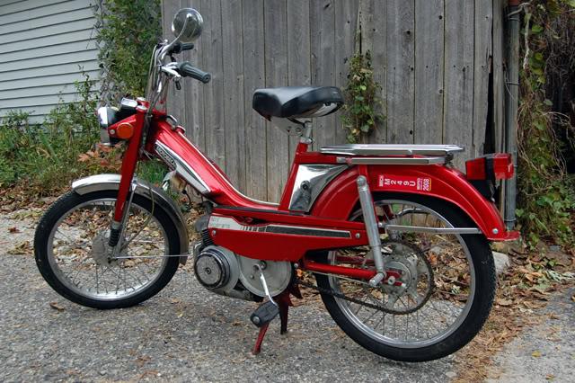 Motobecane style 100cc or 9hp 50cc 2 stroke engine swap
