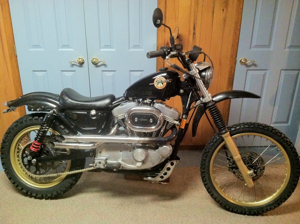 Sportster Scrambler / Dual sport build | Adventure Rider