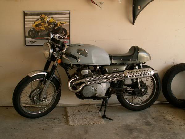 CL175 rebuild | Adventure Rider