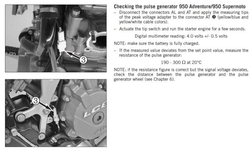 pickup coil gap | Adventure Rider