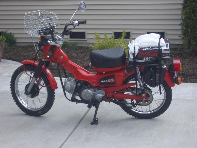 Honda Trail 110 >> 1981 Honda Ct 110 Trail Review And Observations Adventure