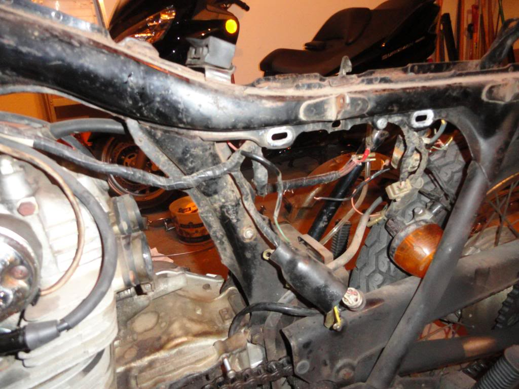 honda cl 350 wiring 1971 honda cl350 restoration adventure rider  1971 honda cl350 restoration