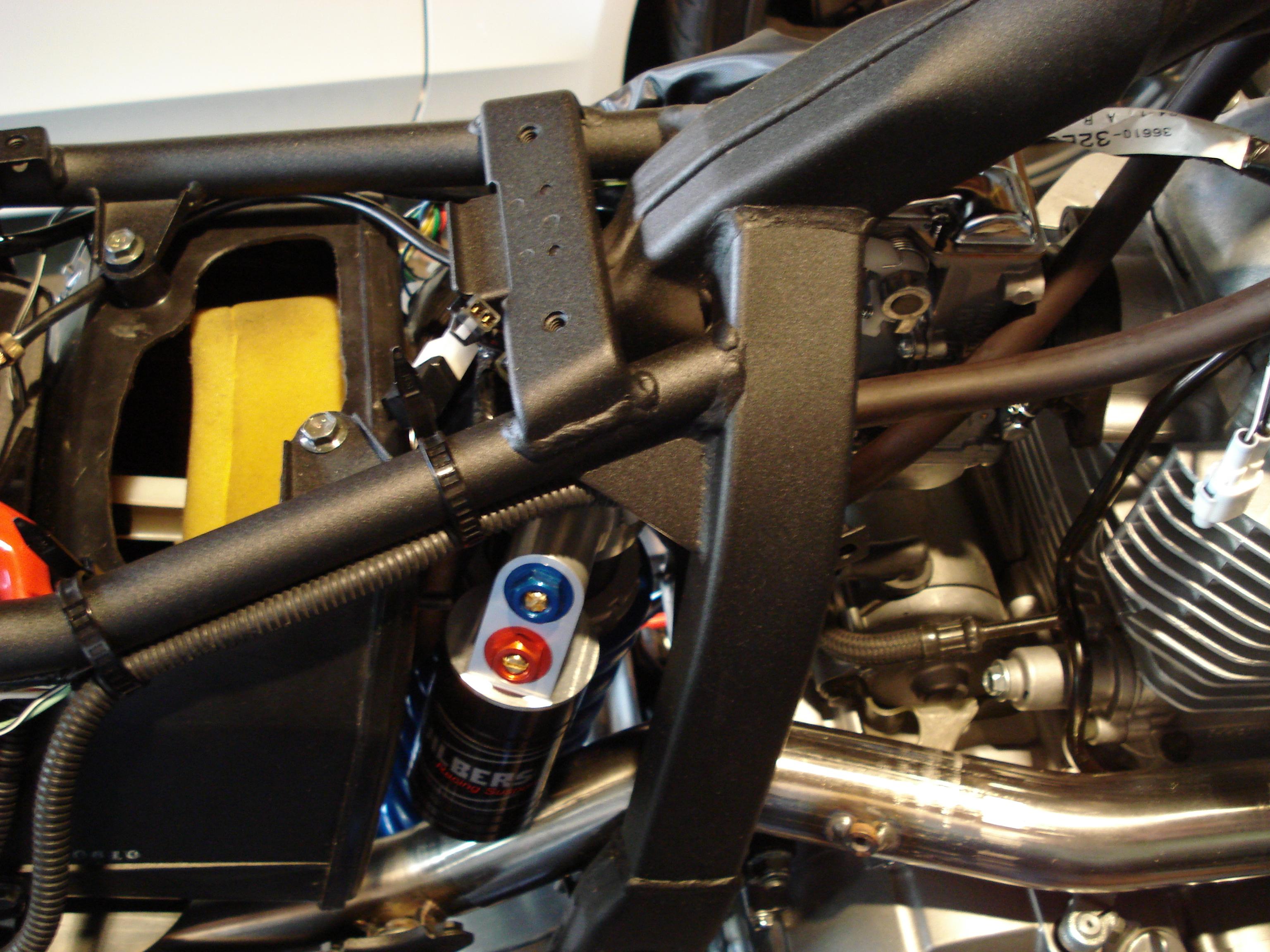Suzuki DR650 Build - Transformation to an Adventure Bike