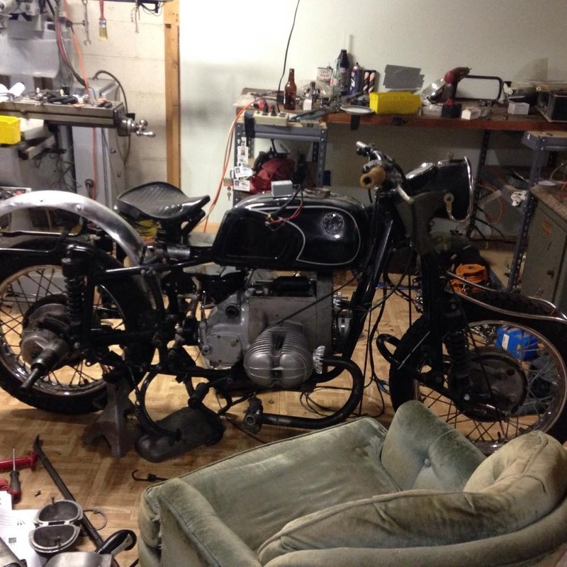 King Ralph, a dnepr/ural/ /5 conversion | Adventure Rider on