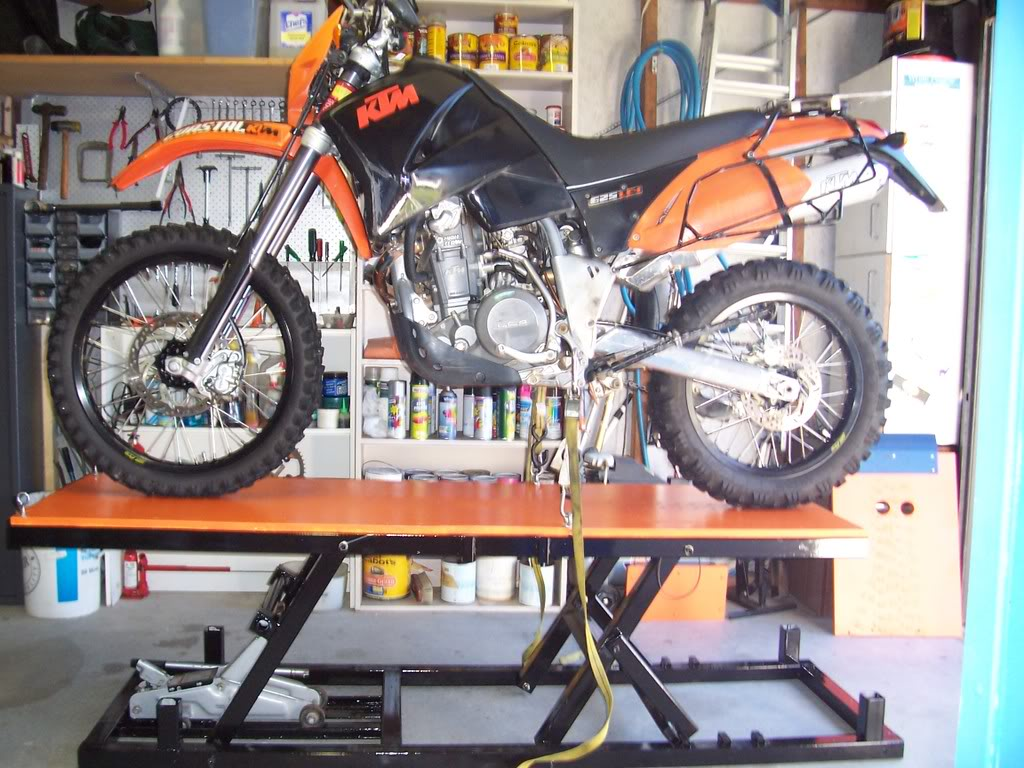 Motorcycle Lift Bench Table Adventure Rider
