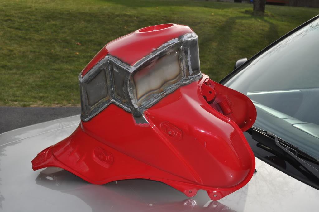 Modify A Stock Gas Tank Adventure Rider