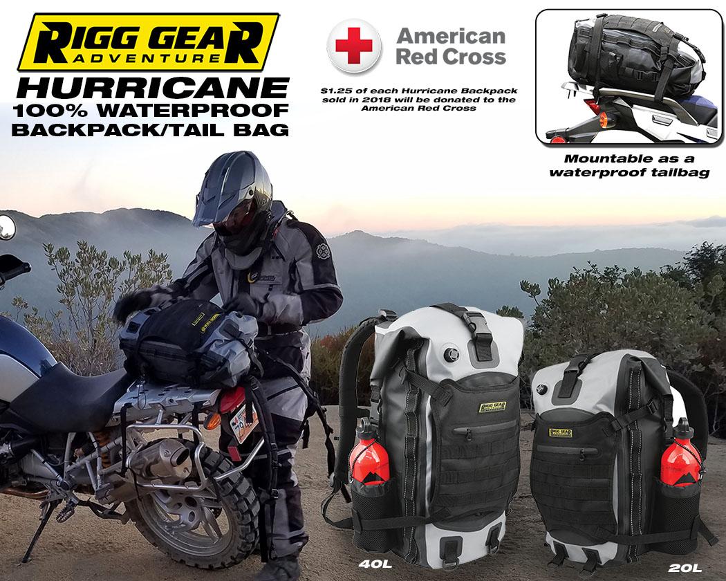 a6e8ff125d8 Rigg Gear Hurricane Waterproof Backpack