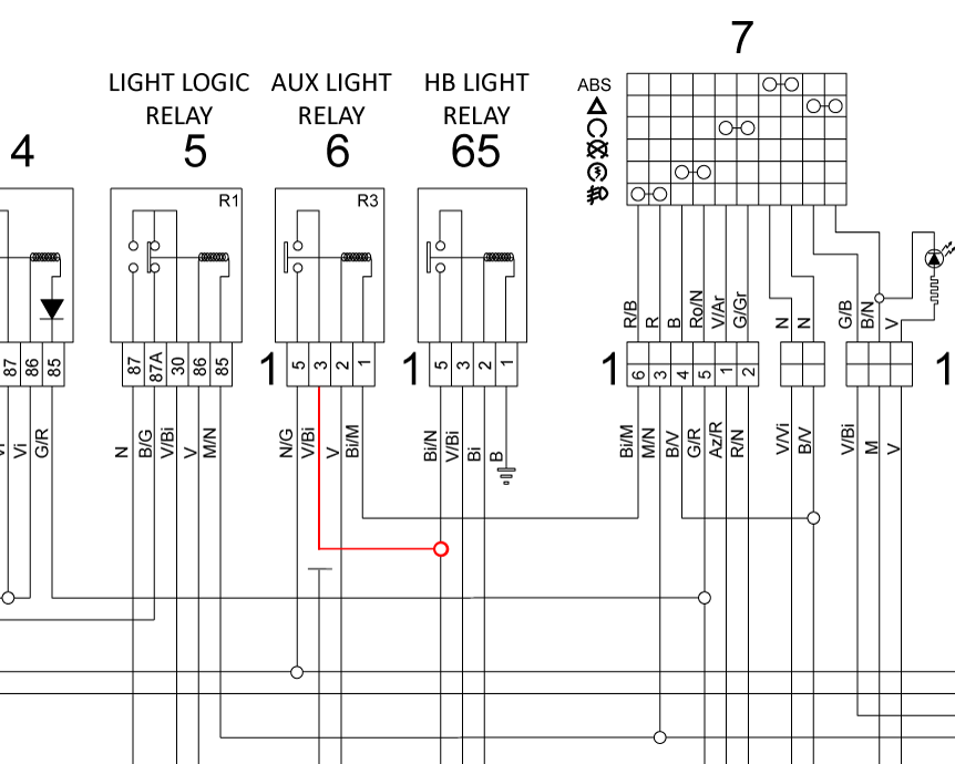 Moto Guzzi Stelvio Wiring Diagram