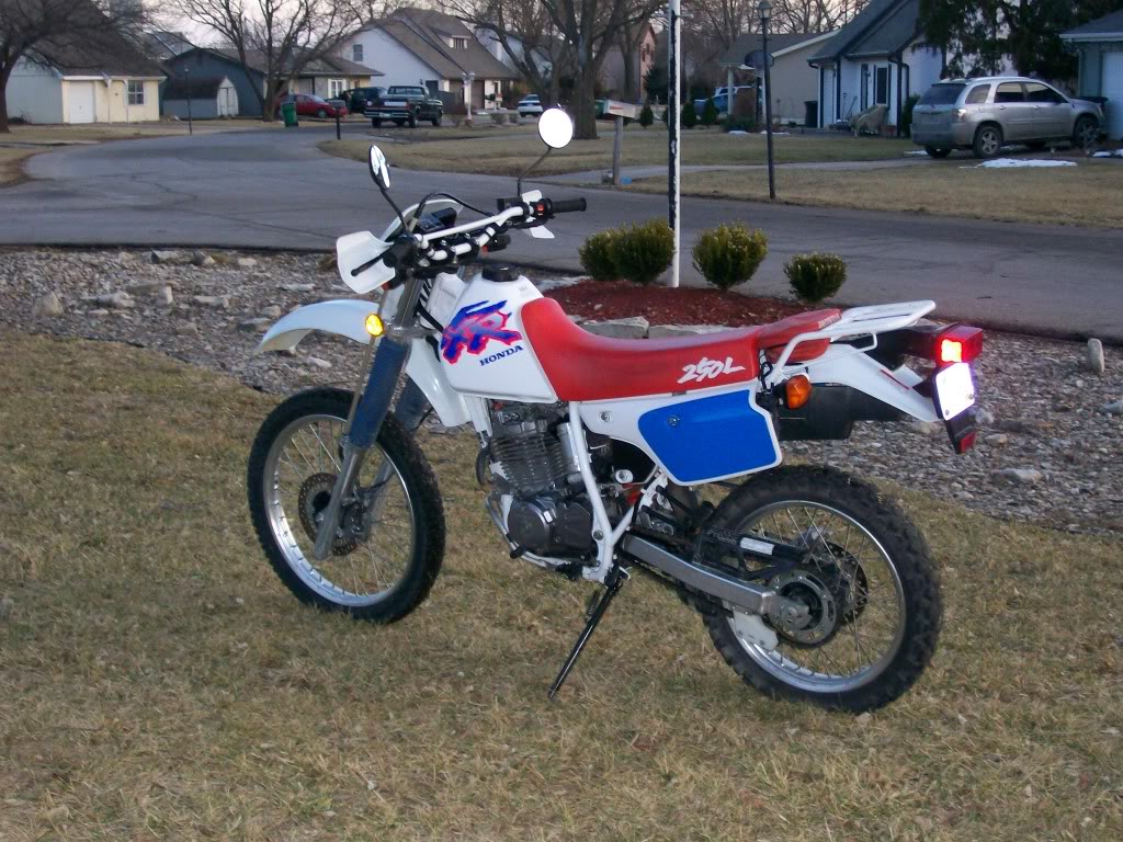 xr250r vs  xr250l | Adventure Rider