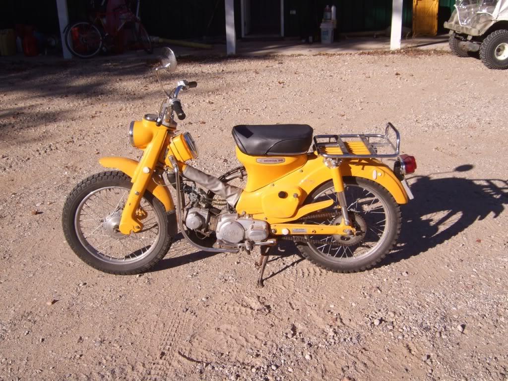 1967 Honda CT90 | Adventure Rider on