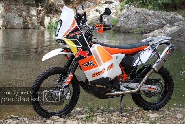 KTM 690 Rally Raid Evo2 tanks quality   Adventure Rider