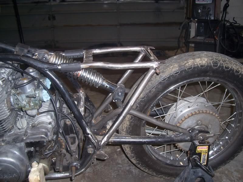 74 TX500 project: rear mono shock conversion   Adventure Rider