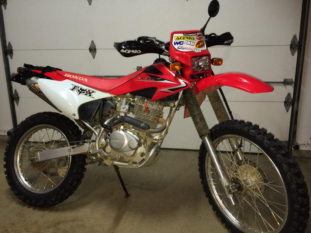 CRF230F Dualsport Conversion Successful - All Mods Detailed